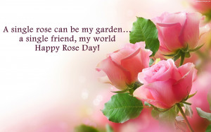 Rose Day Quotes Images, Pictures, Photos, HD Wallpapers