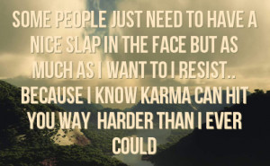 Facebook Quotes About Karma