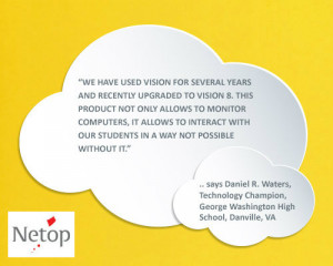What Teachers are Saying About Vision Classroom Management Software