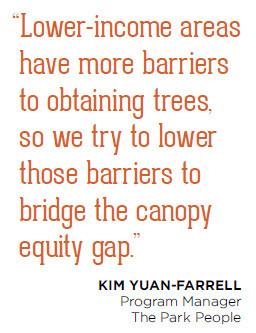 Denver-Kim Yuan-Farrell quote - Urban Forest Case Studies