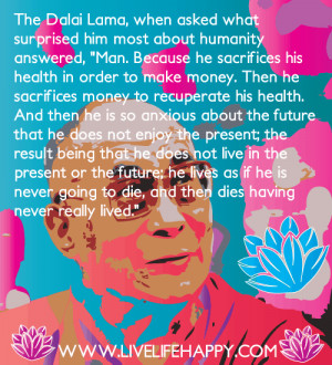 Dalai Lama Quote About Man