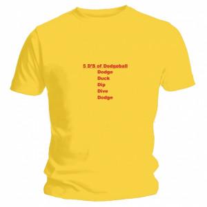 Ds Of Dodgeball T-Shirt