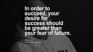 fear of failure. - Bill Cosby quotes believe in yourself never give up ...