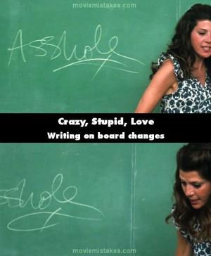Trong cảnh họp phụ huynh của Crazy, Stupid, Love , cô giáo ...