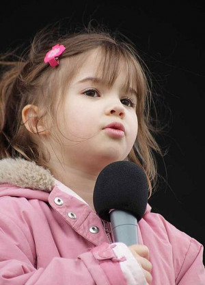 Kaitlyn Maher - Youngest and Cute little girl Singer I have ever seen ...