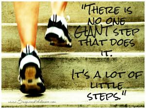 Health & Wellness Quotes - Little Steps - Sagewood Wellness Center
