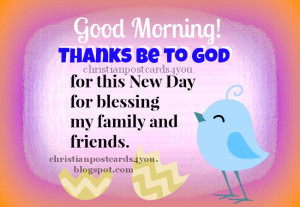 christian image for facebook, Have a good morning, christian quotes ...
