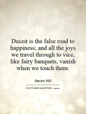 Deceit Quotes And Sayings Quotesgram