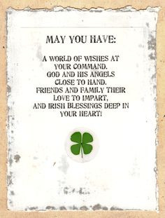 Irish Blessing More