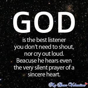 Prayer Of a Sincere Heart