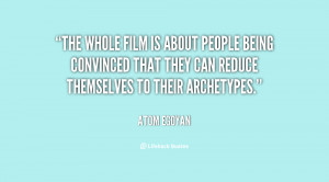 The whole film is about people being convinced that they can reduce ...