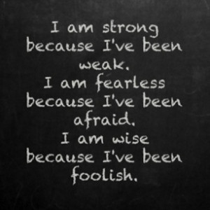 weak strength picture quote