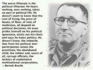 ... director offers choice words on the importance of political literacy