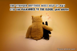 Younger Brother Must Help Elder Brother