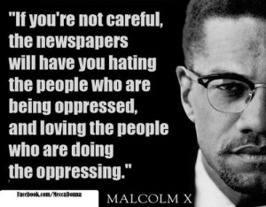 Malcolm x, quotes, sayings, newspapers, power
