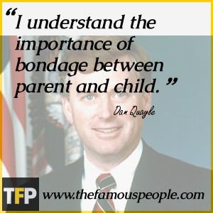 understand the importance of bondage between parent and child.