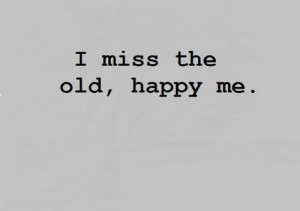 feel alone. I am happy most of the time, but some days just no. I hate ...