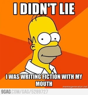 we live in a world in which homer the poet and homer simpson are a ...