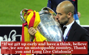 Pep was born in Catalonia and first joined the Barca academy at just ...