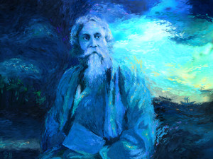 Kabi Guru Rabindranath Tagore , one of the finest modern mystic and ...