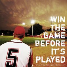 ... its played the mental game of baseball baseball motivation sport quote