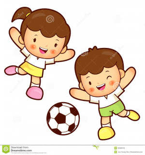 Boys Playing Football. Character Quotes For Kids. View Original ...