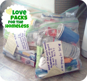 this idea!! Goody Bags for the homeless!: Food Gifts, Blessed Bags ...