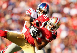Carlos Rogers picked off Eli Manning -- and ripped off Victor Cruz's ...