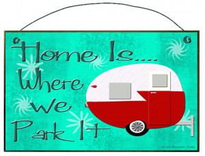 Park RV Camping Clipart