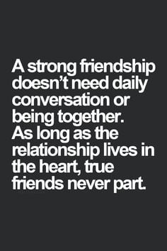 Friend Quotes Distance