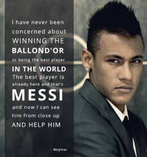 Neymar Football Quotes