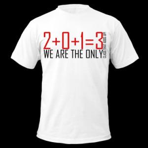 2013 Class Shirt Design T-Shirts