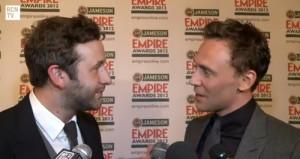 Chris O'Dowd Interrupts Tom Hiddleston's interview