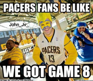 Nobody cares about the Pacer outside the context of the Heat