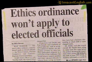 Funny Quotes About Ethics http://www.innocentenglish.com/quick-break ...