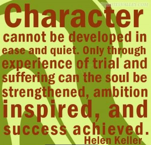 Quotes On Strength Of Character
