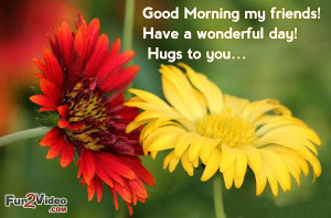 Have a wonderful day good morning quotes to say good morning my ...