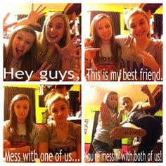 Cute Best Friend Quotes For Teenage Girls | My Love Story | Imagenes