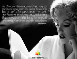 Have No Regrets Quotes