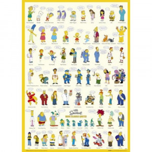The Simpsons, More Classic Quotes, Maxi Poster, (61x91.5cm) FP1370 (17 ...