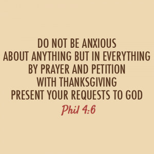 And there's no neeed to worry and sad.. all things possible in JESUS ...