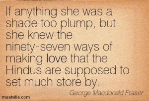 Quotation George MacDonald Fraser