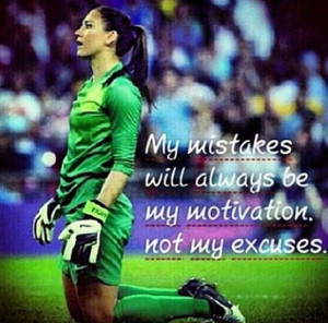 Hope Solo Quotes Hope solo soccer quote