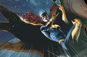 hide caption An image of Batgirl from the cover of