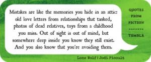 Lone Wolf by Jodi Picoult #BookQuote #Literature #Books