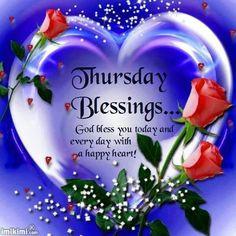 thursday blessing More