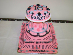 Sweet 16 Birthday Cake Ideas. Baby Boy First Birthday Quotes. View ...