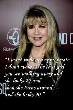 appropriate: | 12 Stevie Nicks Quotes To Live By Nicks Quotes, Quotes ...