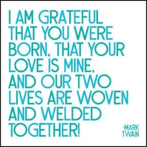 Love/romance Card- I Am Grateful That You Were Born, That Your Love ...