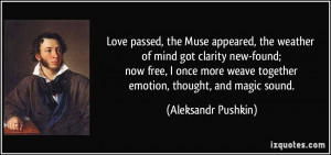 More Aleksandr Pushkin Quotes